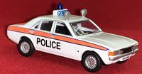 Oxford Die-Cast: Morris Marina - Cheshire Police Patrol Car - 1:76 Scale Die-Cast Model